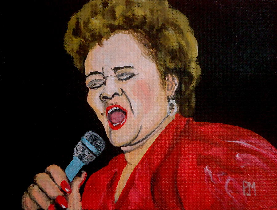 Etta James Painting - Etta by Pete Maier