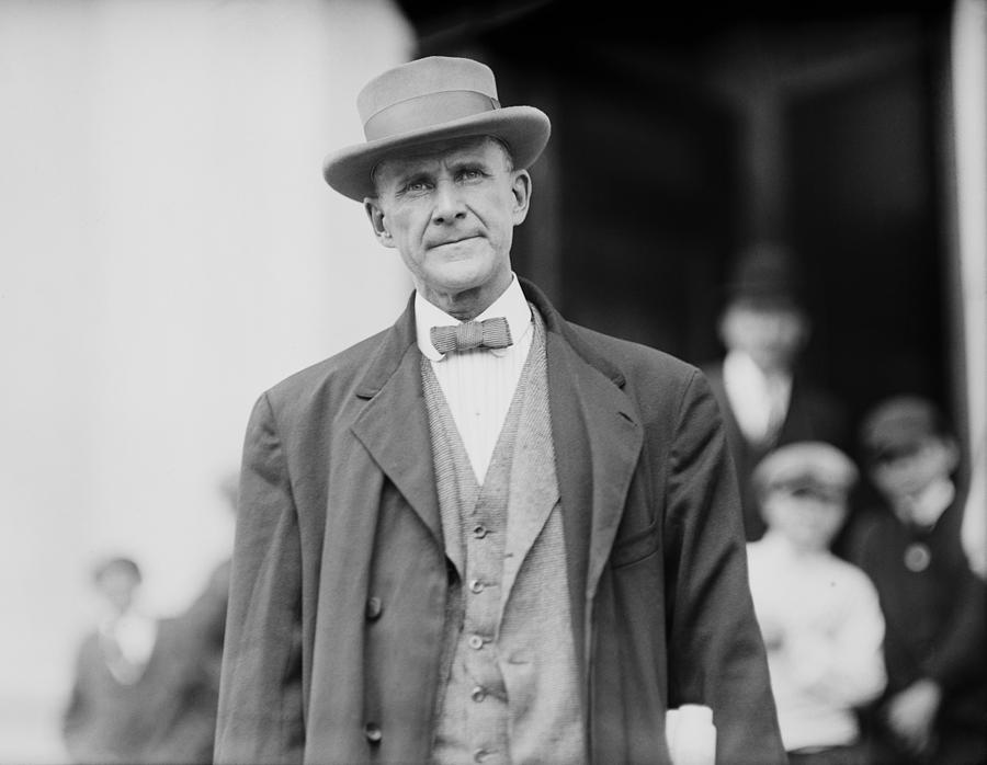 Eugene Debs 1855-1926 In 1912. He Photograph by Everett Eugene Debs