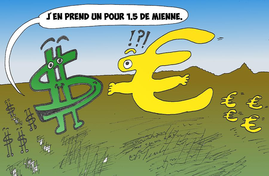 Usd Mixed Media - Eur Usd Forex En Bd by OptionsClick BlogArt