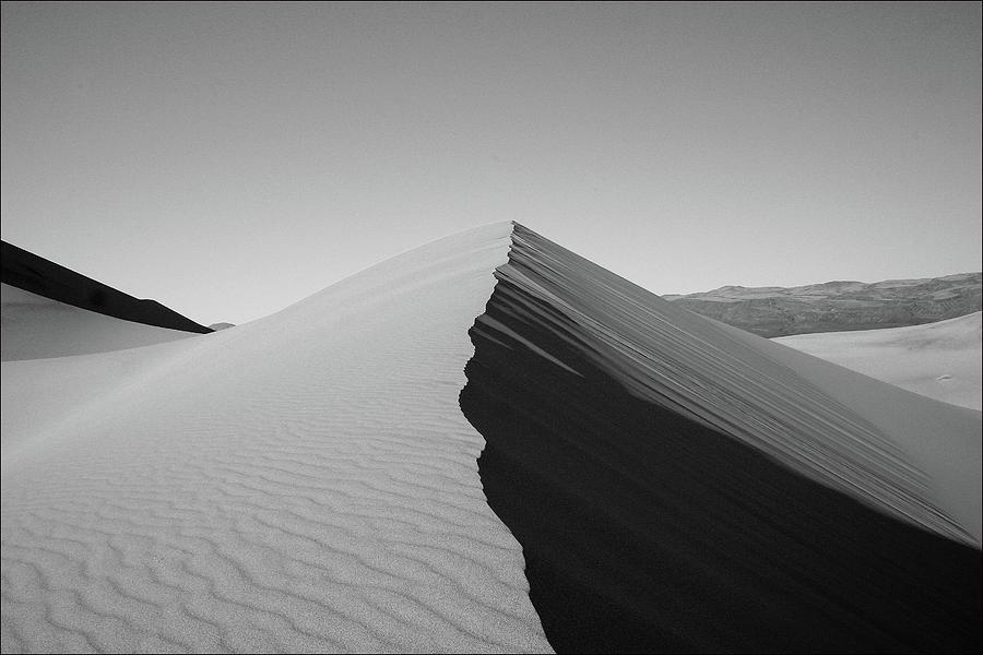 Horizontal Photograph - Eureka Dunes, Death Valley National Park by Gary Koutsoubis
