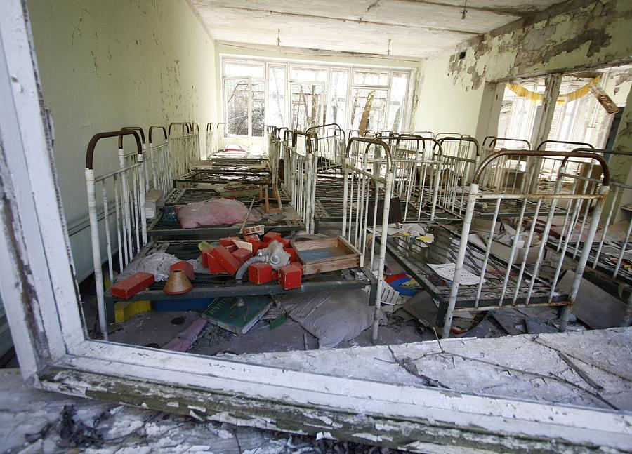 House Photograph - Evacuated Kindergarten Near Chernobyl by Ria Novosti