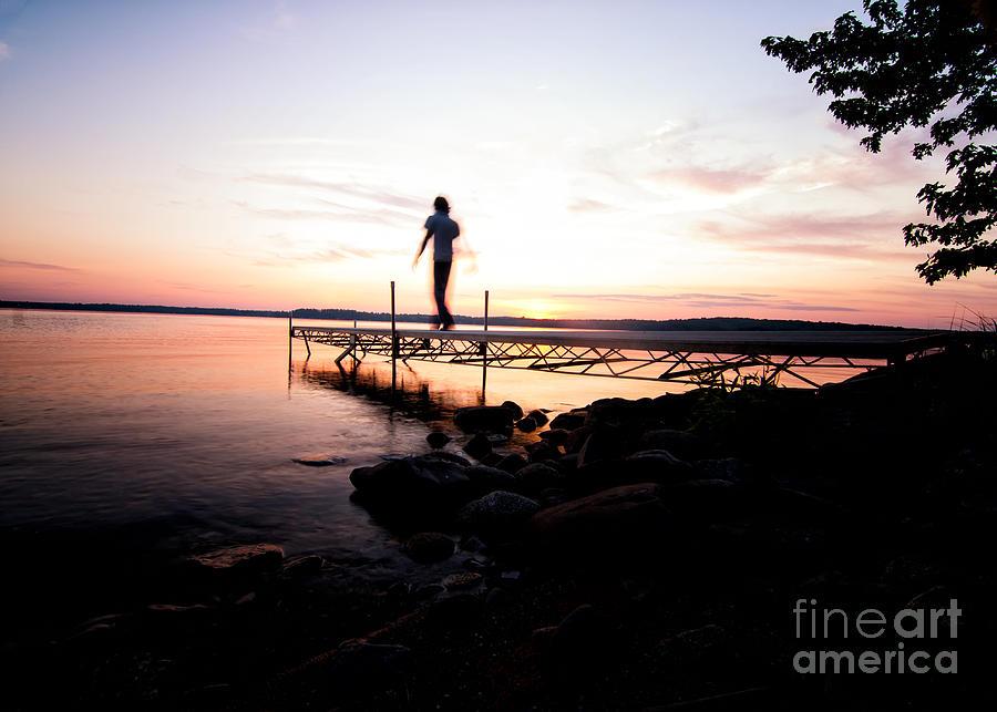 Evanesce - Im Not Here Photograph by Venura Herath