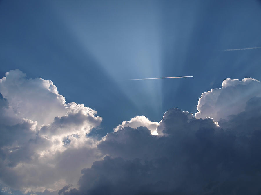 Even Through The Clouds You Will Find A Ray Of Sunshine ...