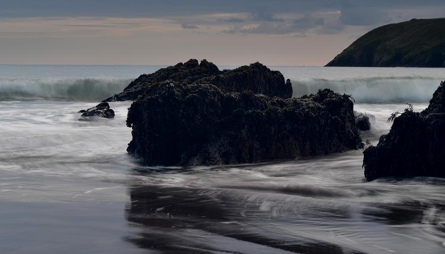 Ireland Photograph - Evening Beenbane Beach by Barbara Walsh