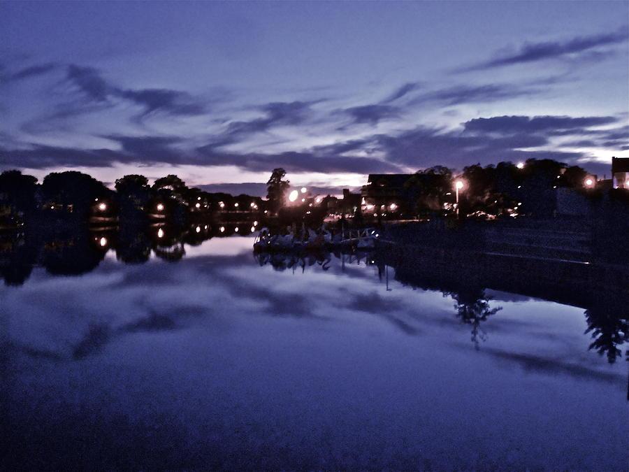 Landscape Photograph - Evening Blues by Joe  Burns