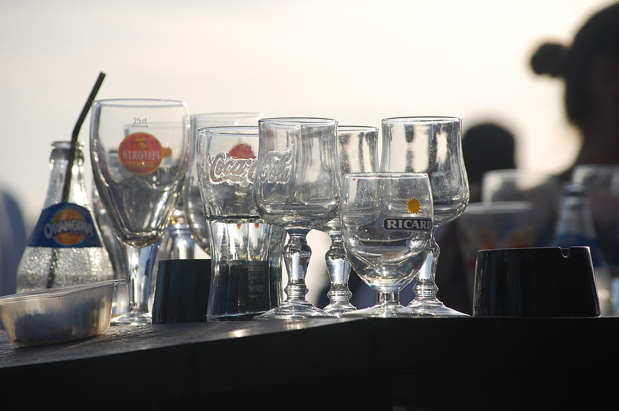 Pure Photograph - Evening Drinks by Dickon Thompson