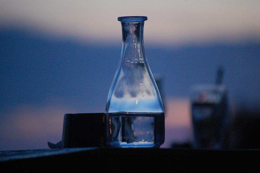 Pure Photograph - Evening Drinks II by Dickon Thompson