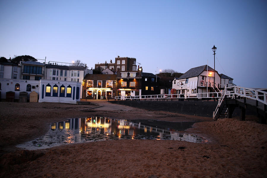 Photographer Photograph - Evening In Broadstairs by Jez C Self