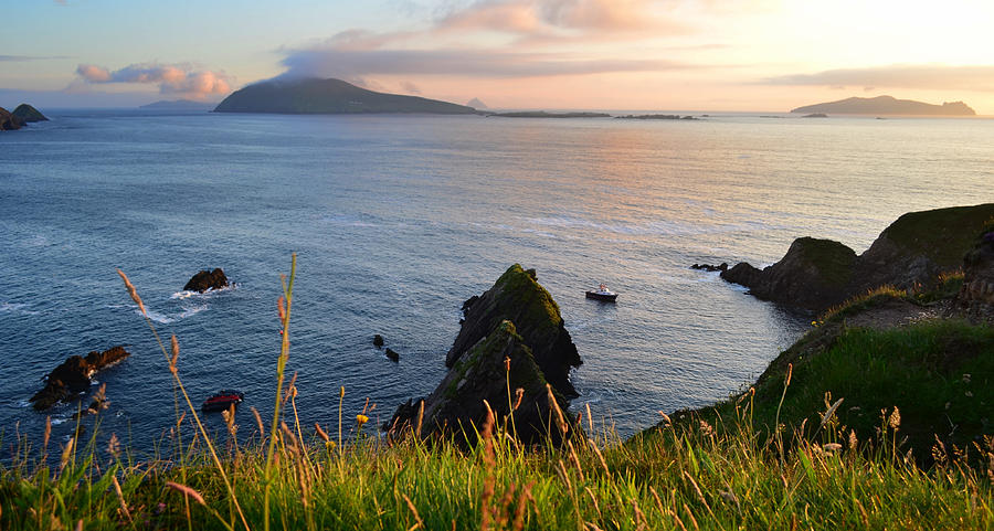 Ireland Photograph - Evening In Kerry by Barbara Walsh