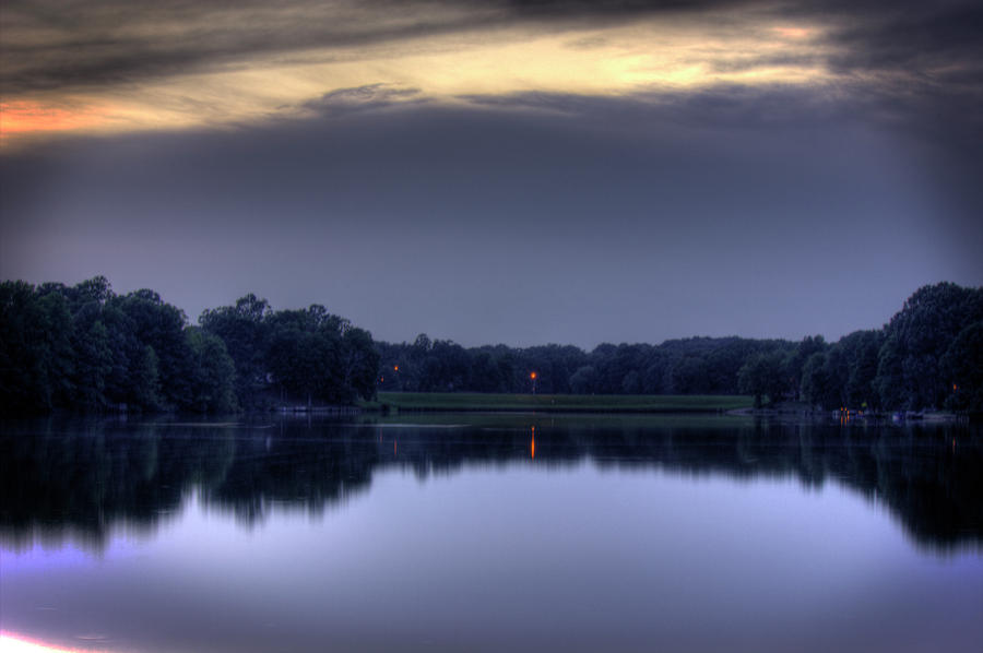 Sunset Photograph - Evening Reflections by Barry Jones