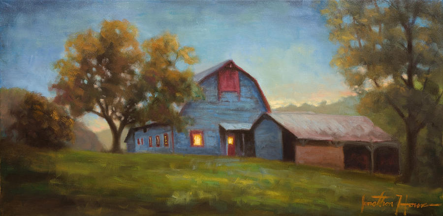 Portraits Painting - Evening Sanctuary by Jonathan Howe