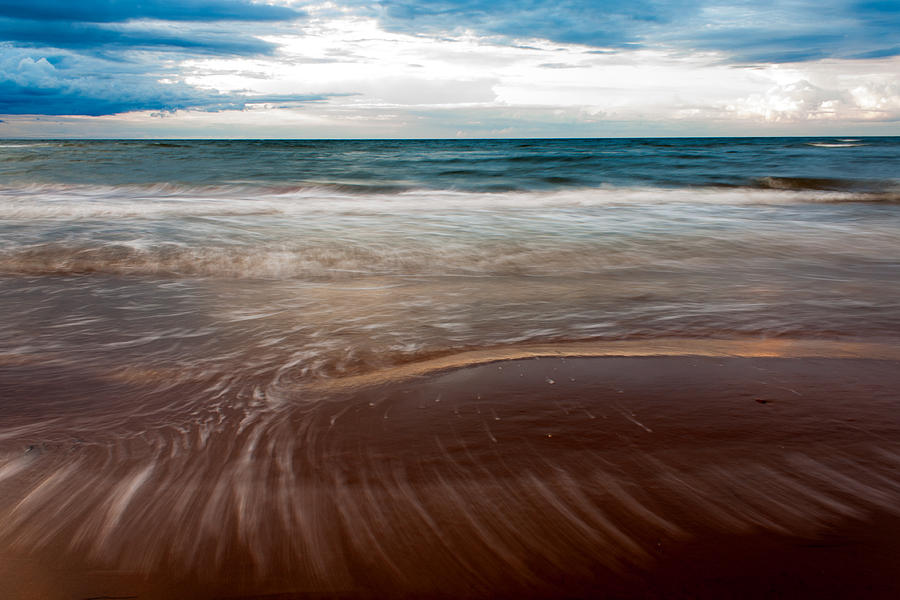 Motion Blur Photograph - Evening Tide by Matt Dobson