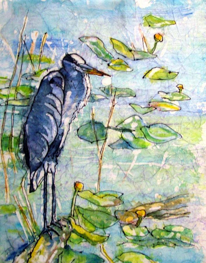 Everglades Heron by Gloria Avner