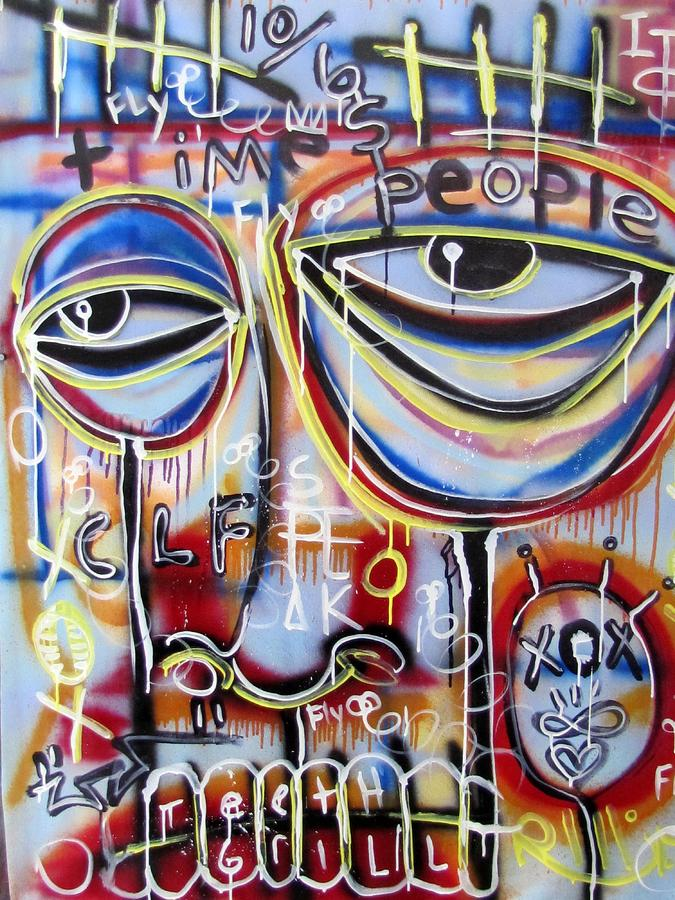Contemporary Painting - Everyone Wants To Change The World by Robert Wolverton Jr