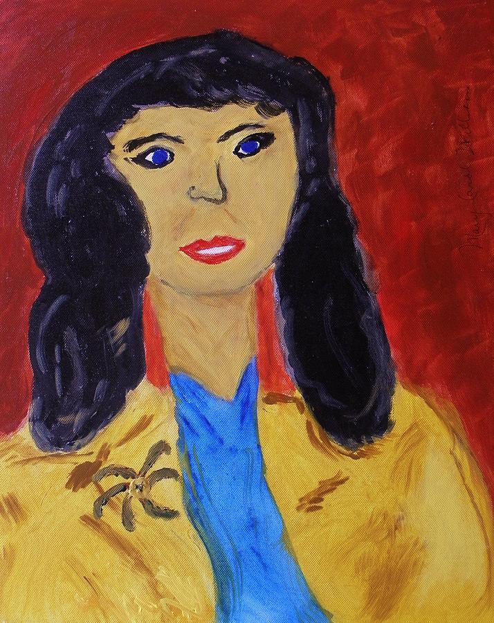 Woman Painting - Everywoman by Mary Carol Williams