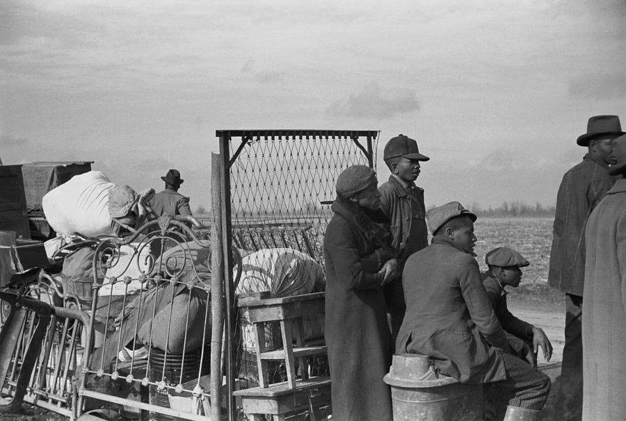History Photograph - Evicted African-american Sharecroppers by Everett