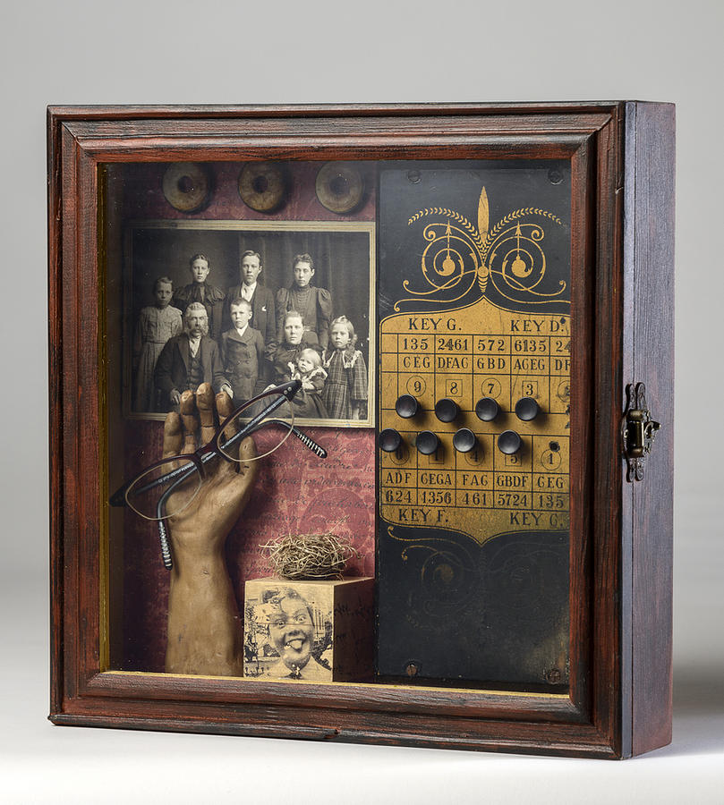 Box Mixed Media - Evidence by Susan McCarrell