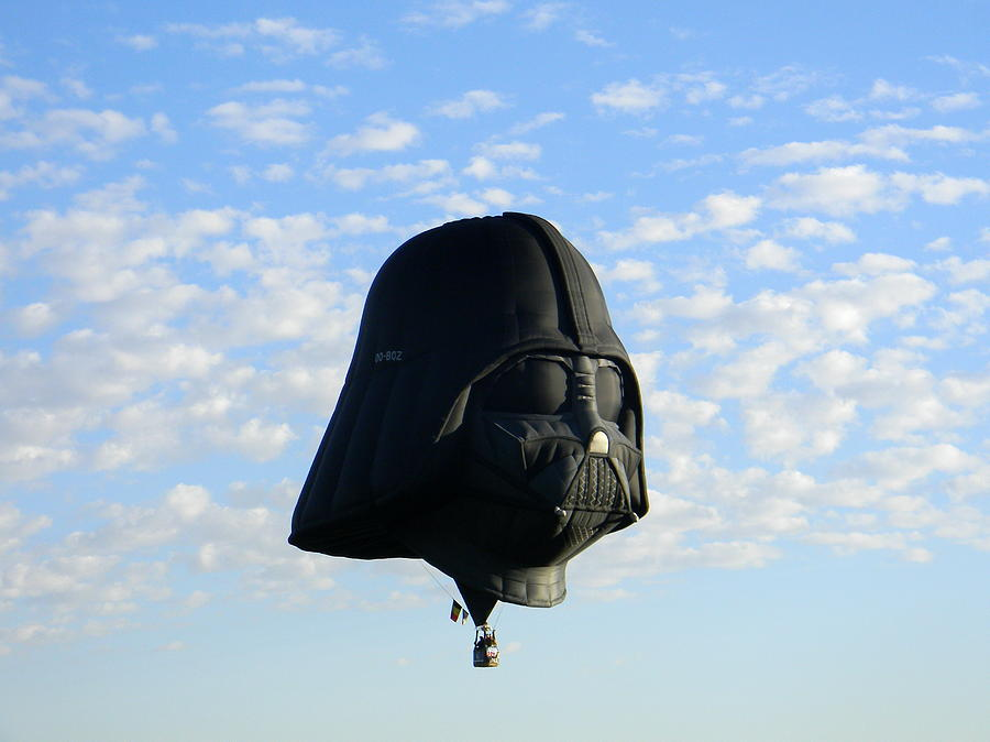 Darth Vader Photograph - Evil Ascendant by Christopher Walsh
