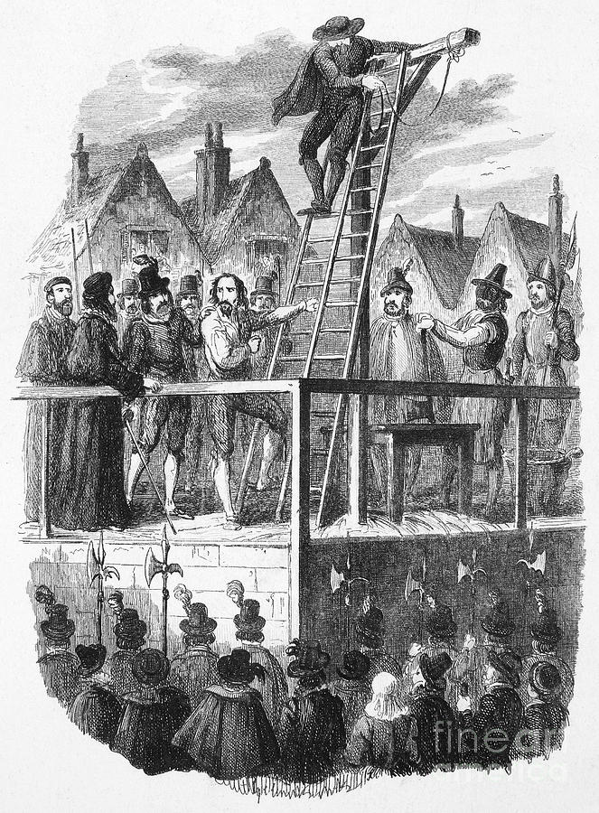 Execution Of Guy Fawkes Photograph by Granger