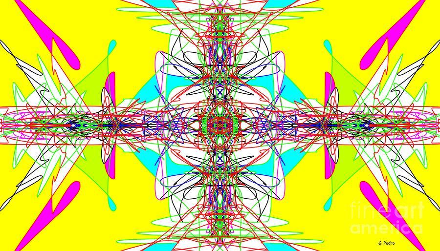 Fractal Digital Art - Executive Decision by George Pedro