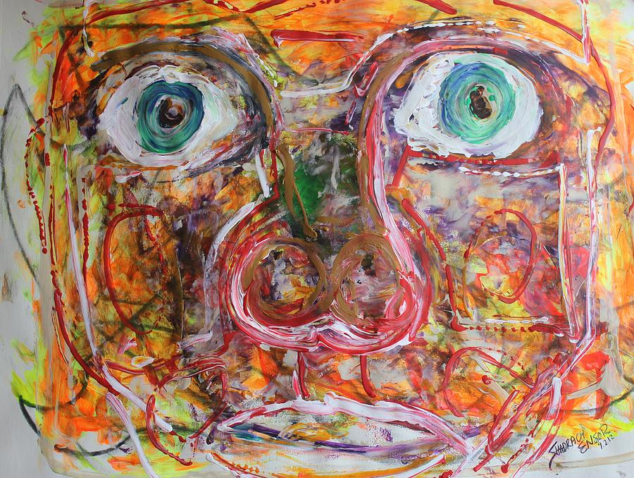 Self Painting - Exhibit Shocked by Shadrach Ensor