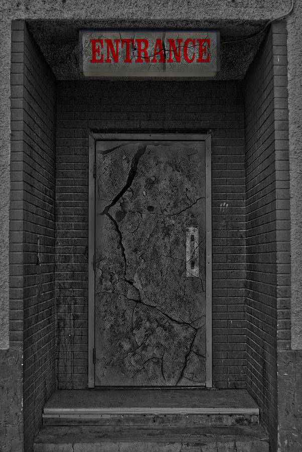 Church Photograph - Exit by Jerry Cordeiro