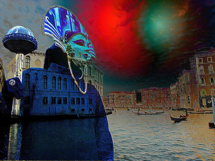 Green Light Digital Art - Exotica Stravaganze by Monica Ghit