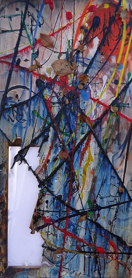 Spiritual Painting - Experiment - To Try Something New Especially In Order To Gain Experience. by Cory Green