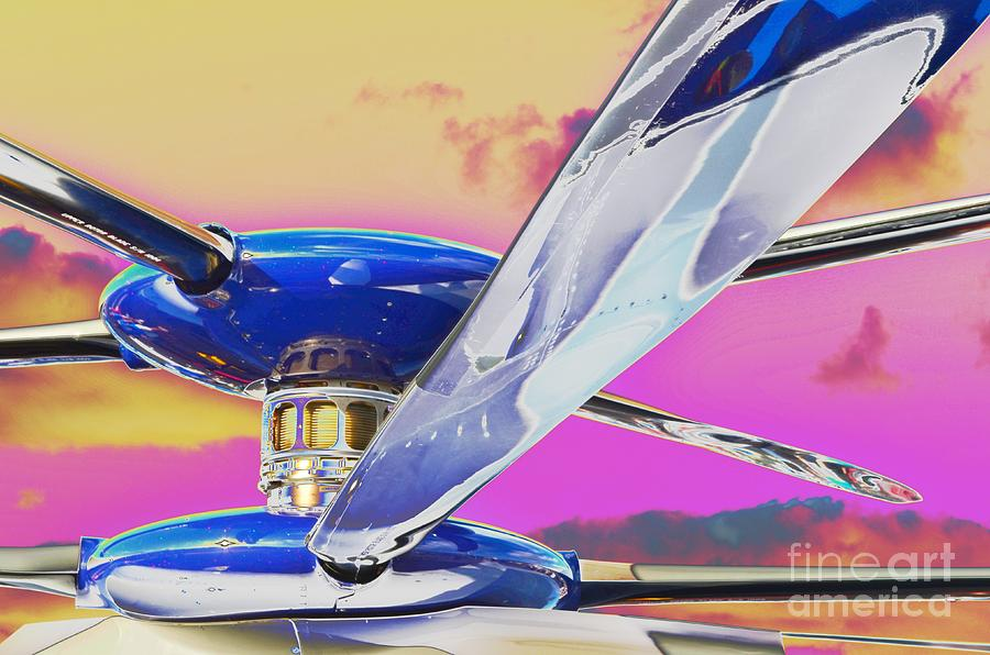 Sikorsky Photograph - Experimenting With An Experimental by Lynda Dawson-Youngclaus