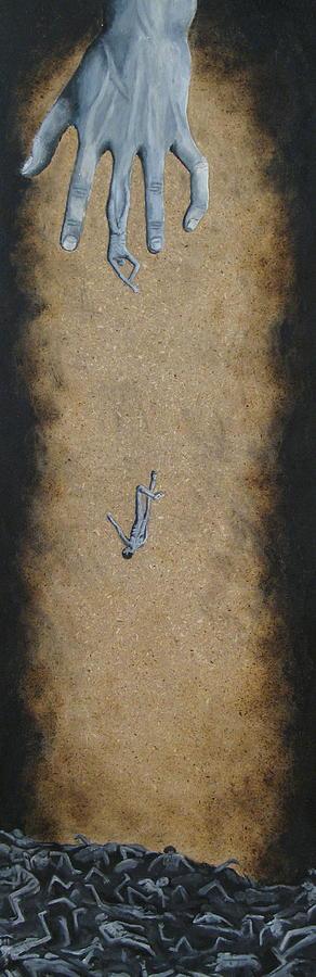 Hand Painting - Exploitation Is Inevitable by David  Nixon