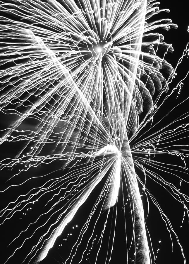 Yucca Valley Photograph - Explosions For Sovereignty And Liberty by Carolina Liechtenstein