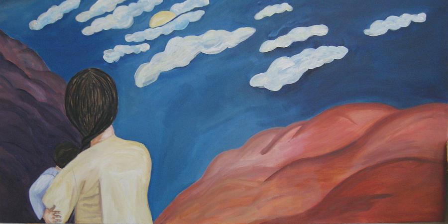Landscape Painting - Expulsion by Lorraine Toler