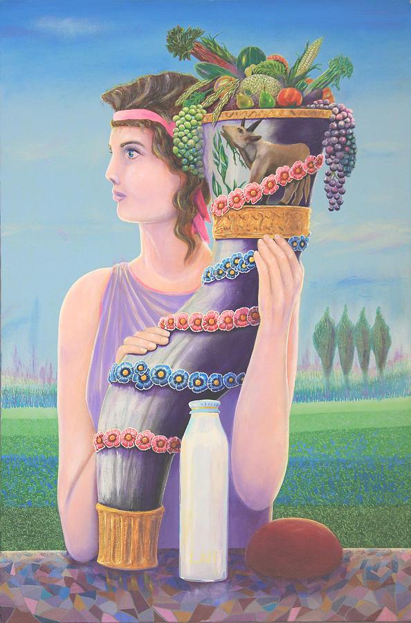 Cornucopia Painting - Extant by Purvis Evans
