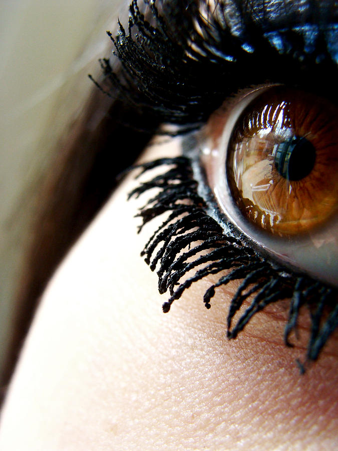 Eye Photograph - Eye 01 by Kalie Hoodhood