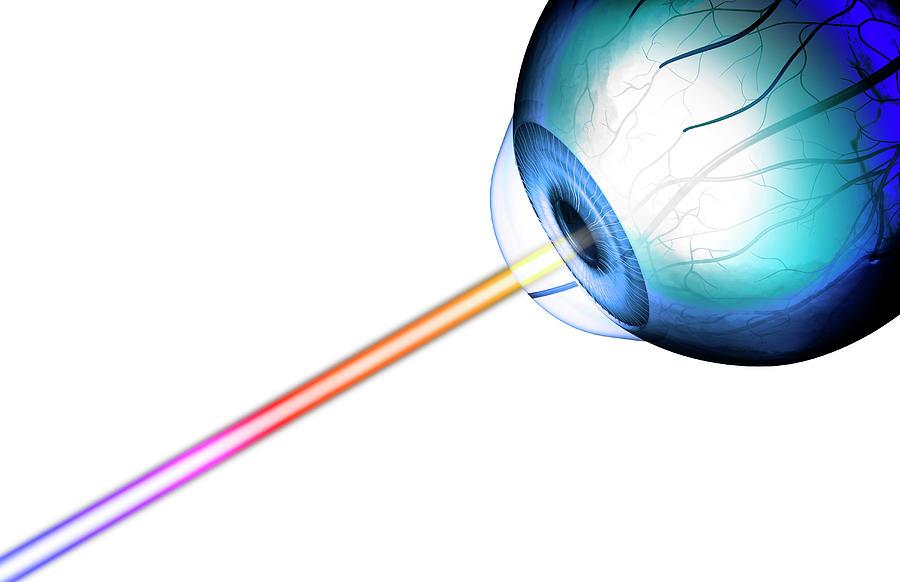 Eye-line Of Sight Digital Art by MedicalRF.com