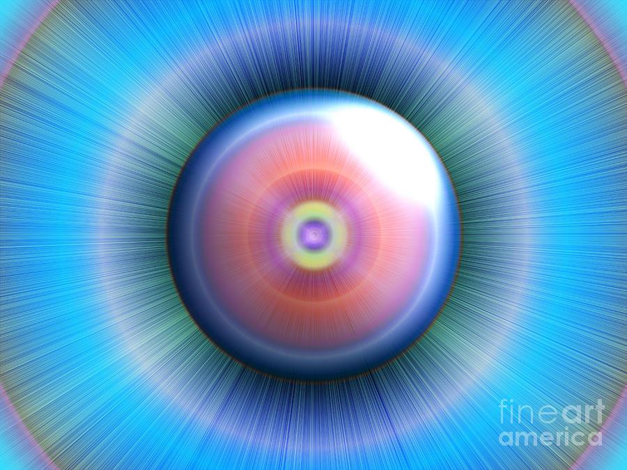 Eye Digital Art - Eye by Nicholas Burningham