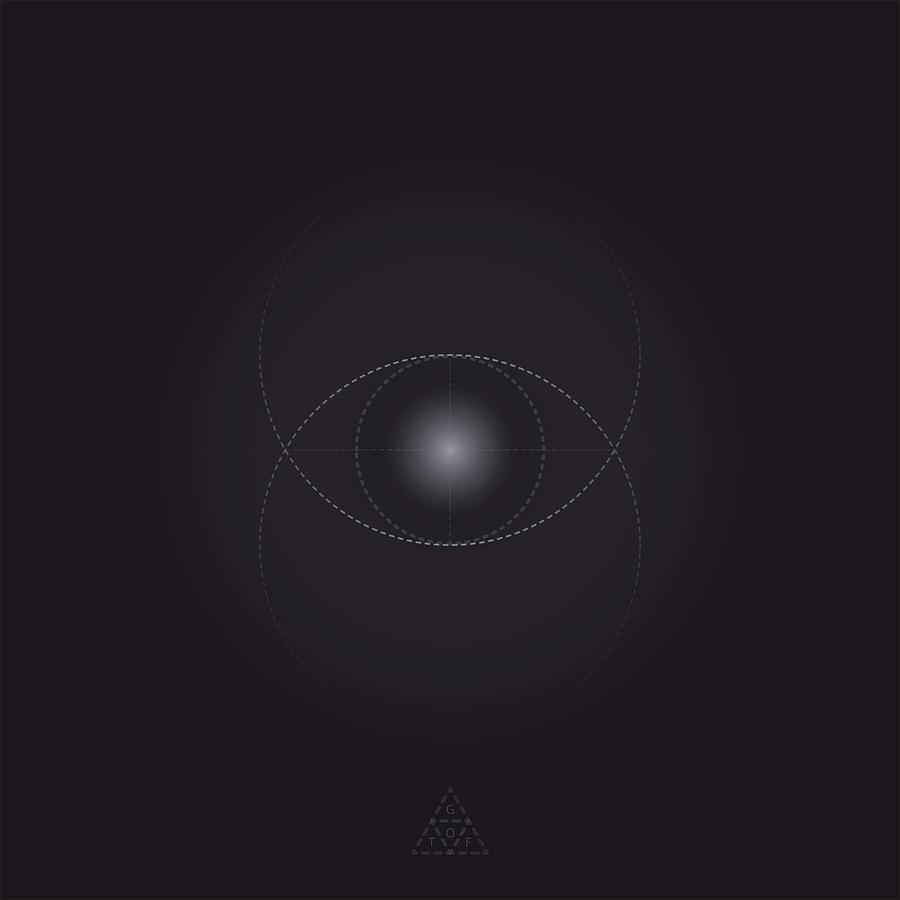 Geometry Digital Art - Eye Of God V7.1 by Guardians of the Future