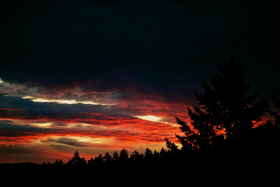 Sunset Photograph - Eye Of Halloween  by Kevin Bone