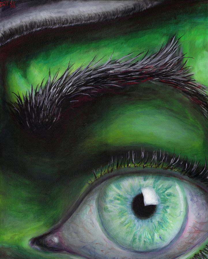Eye of the Beholder Painting by Rust Dill