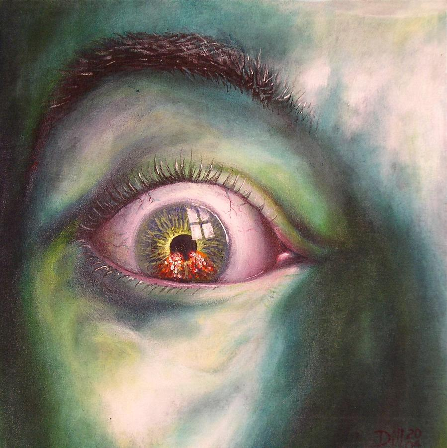 Eye of the Beholder version I Painting by Rust Dill