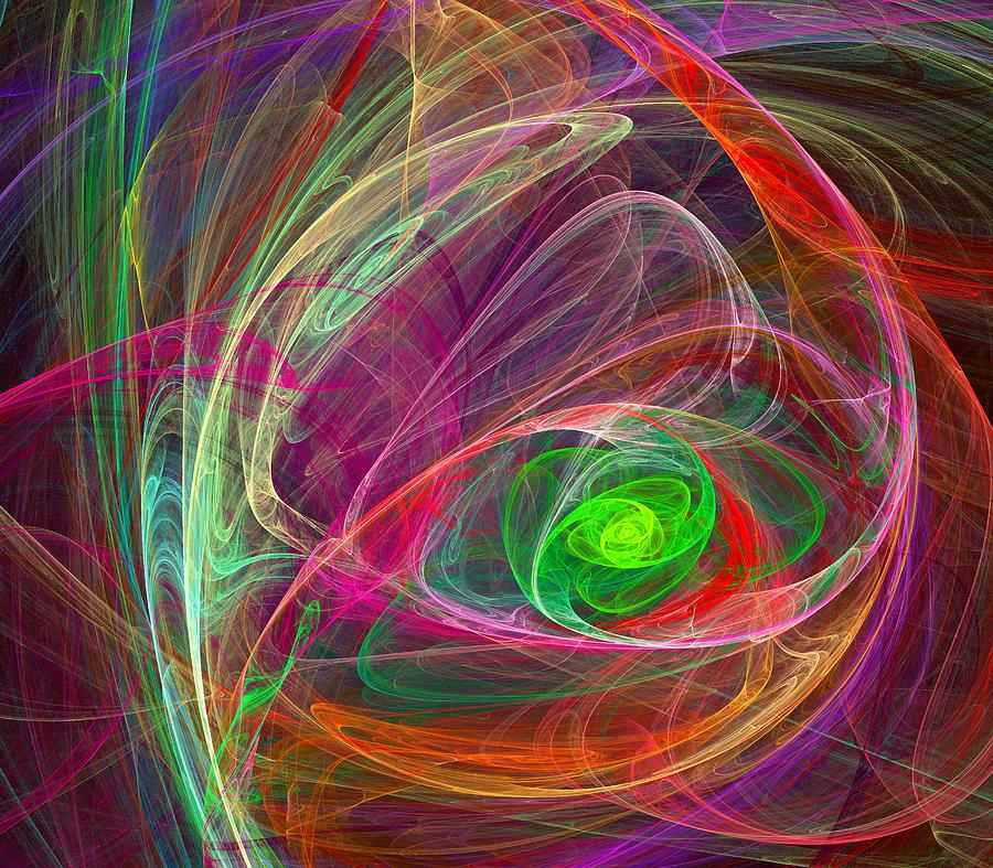 Storm Digital Art - Eye Of The Storm by Ricky Barnard
