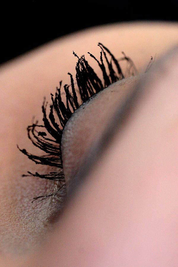 Eye Photograph - Eyelashes by JL Creative  Captures