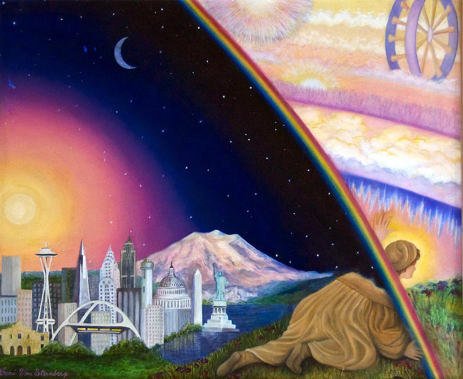 Ezekiel's Vision by Cari Von Sternberg