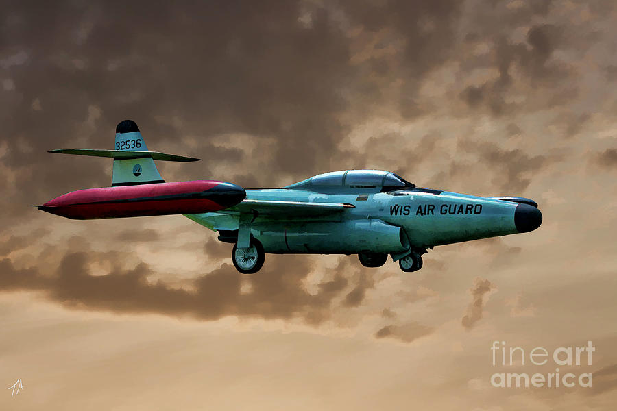Northrop F-89 Scorpion Photograph - F-89 Scorpion by Tommy Anderson