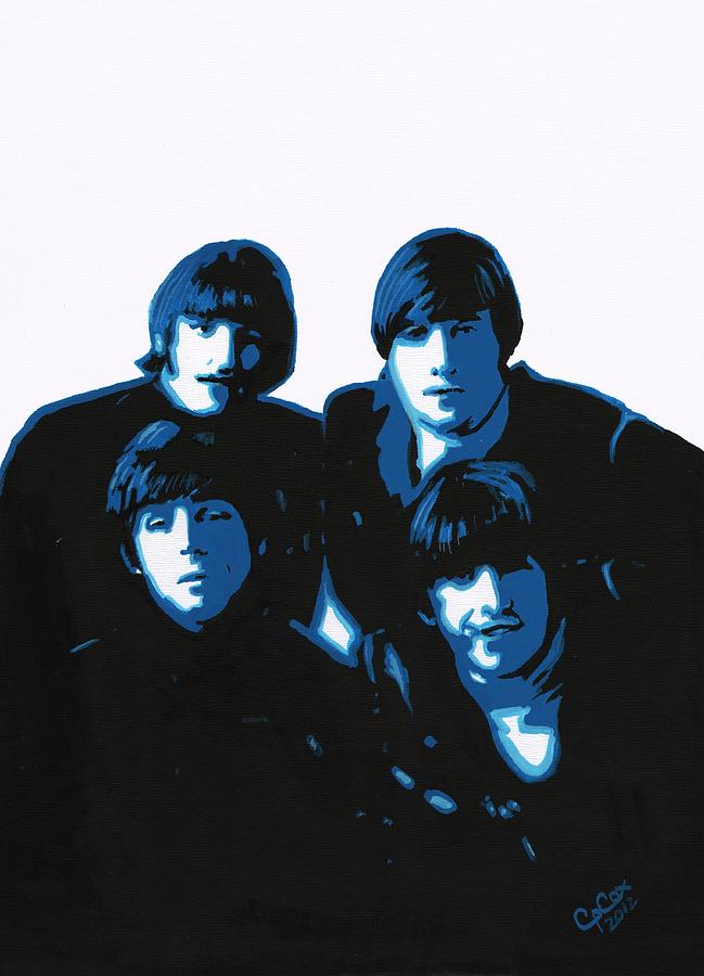 Acrylic Painting - Fab Four by Chris Cox