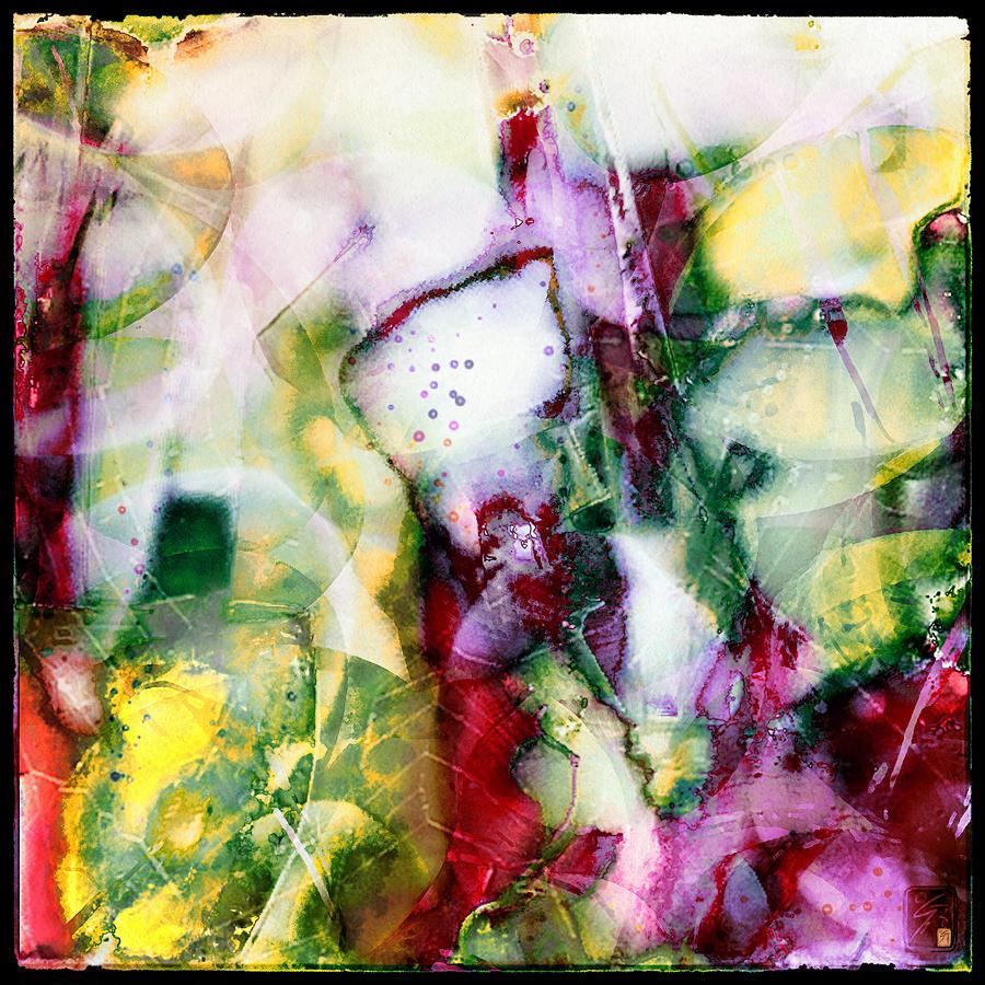 Ester Painting - Faberge by Greta Thorsdottir