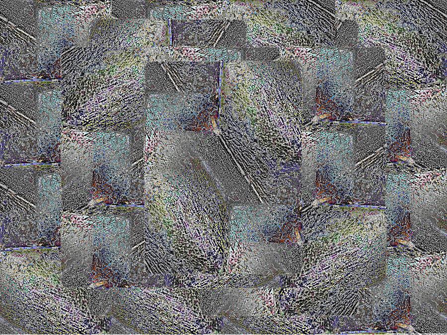 Abstract Digital Art - Facade 17 by Tim Allen