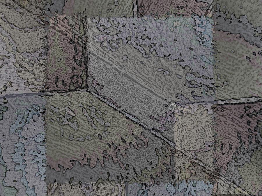 Abstract Digital Art - Facade 7 by Tim Allen