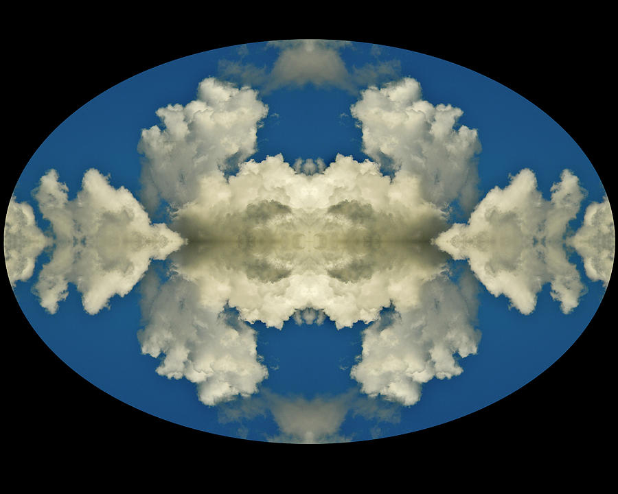 Abstract Photograph - Face In Clouds At The Air Race by Russ Lopez