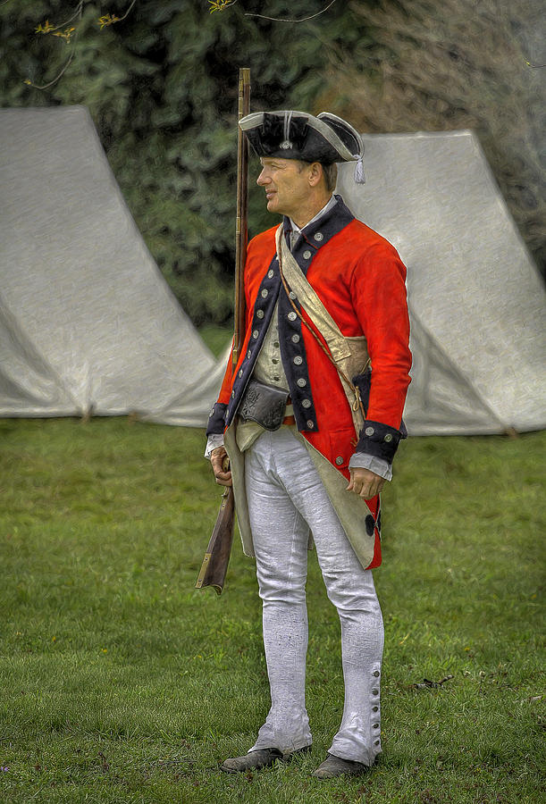 Faces Of The American Revolution British Soldier In Camp